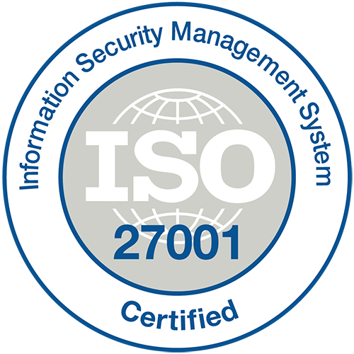 ISO 27001 Stamp